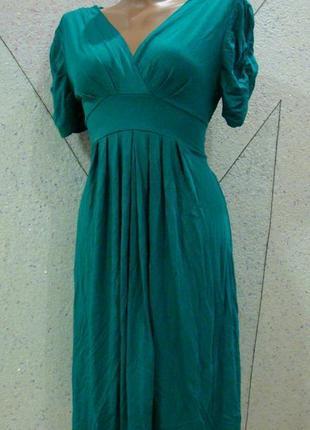 Распродажа!красивое яркое платье на запах.размер 8-10