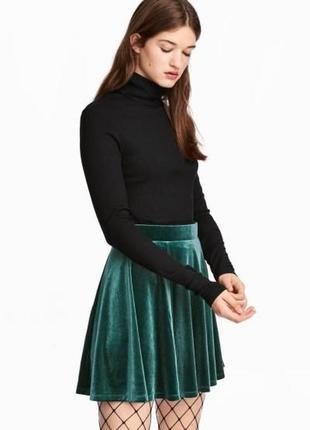 """Оригинальная юбка """"солнце-клеш"""" от бренда h&m разм. s"""