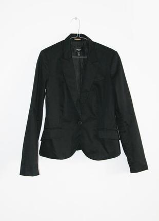 Базовый черный классический пиджак