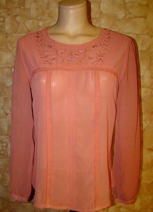 Блуза с вышивкой george р.l/xl