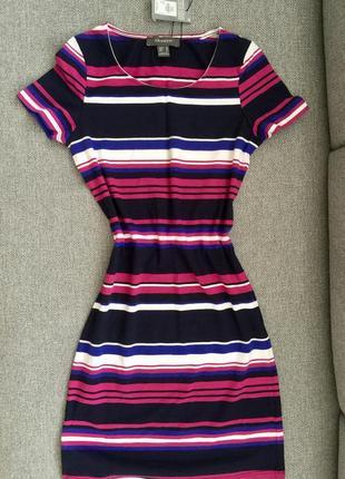 Сукня в смужку, платье в полоску primark