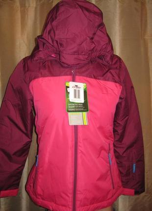 Зимняя (лыжная) куртка для девочки, р.122-128 см, новая германия