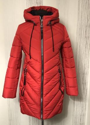 Зимова курточка 46- 54 розміру