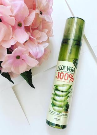 Тоник-спрей с алоэ nature inside aloe vera moisture soothing gel mist