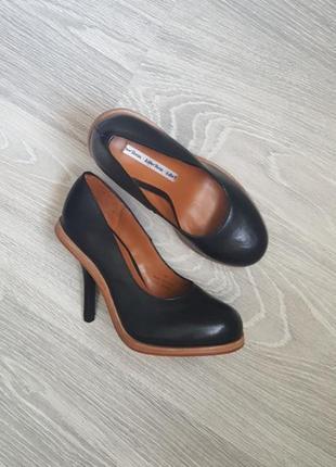 Новые & other stories кожаные туфли 36, 41 размер классические черные лодочки