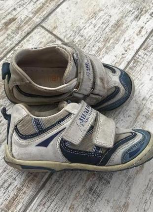Кожаные ортопедические кроссовки minimen
