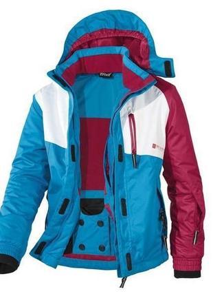 Лыжная зимняя термо-куртка, курточка на девочку crivit sports, германия, р.122-128