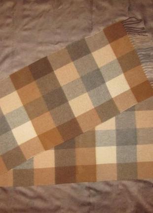 Кашемировый шарф begg оригинал шотландия 100% кашемир