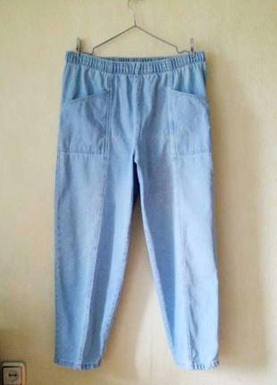 Момы зауженные джинсы moms