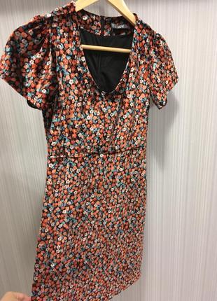 Платье велюровое1
