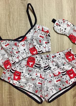 Нежная и легкая хлопковая пижама