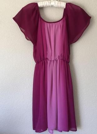 Женственное платье h&m омбре