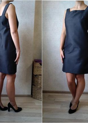Платье сарафан из плотной ткани