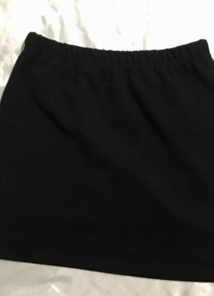 Чёрная мини-юбка amisu