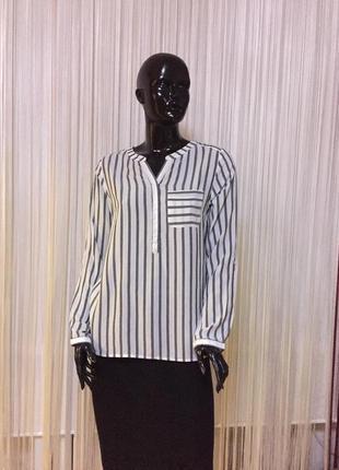 Рубашка в полоску немецкого  бренда multiblu