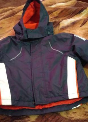 Термо куртка lupilu, идеальное состояние.