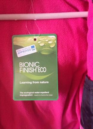 Курточка пальто bionic finish eco непромокаемая непродуваемая куртка3