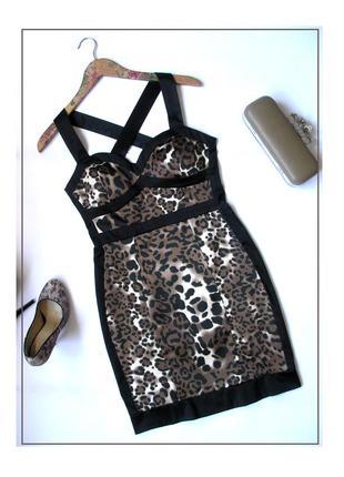 M- jane norman- бандажное платье футляр по фигуре, новое