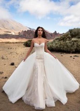 Свадебное платье трансформер nora naviano sposa