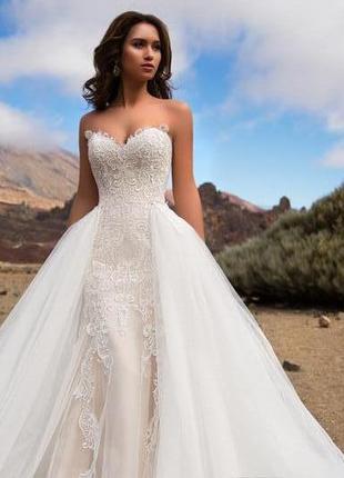 Свадебное платье трансформер nora naviano sposa3 фото
