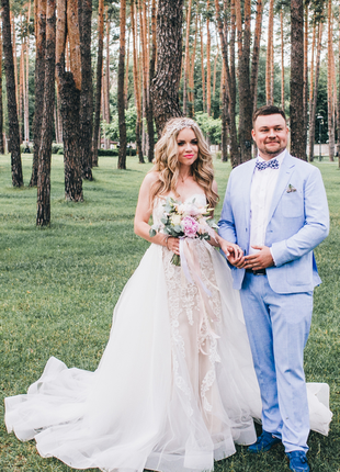 Свадебное платье трансформер nora naviano sposa5 фото