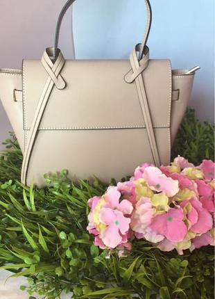 Кожаная сумка из натуральной кожи италия