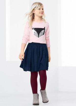 Пышная юбка синяя школьная размер 42-50 наш tchibo тсм