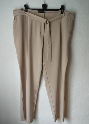 Зауженые к низу брюки1