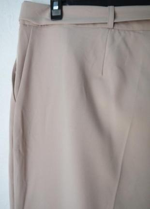 Зауженые к низу брюки3
