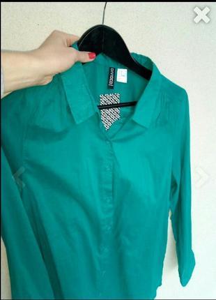 Рубашка туника h&m