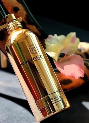 Montale pure gold парфюмированная вода тестер 100 мл оригинал франция