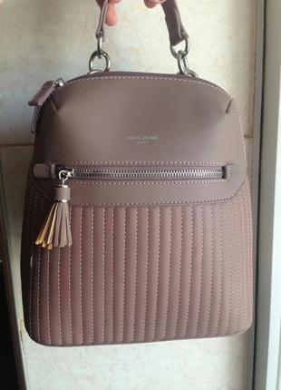Модный рюкзак от d. jones, городской женский рюкзак