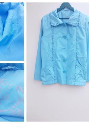 Красивая куртка ветровка большой размер легкая куртка