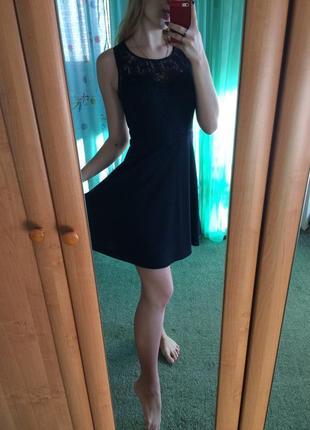 Платье синее new look