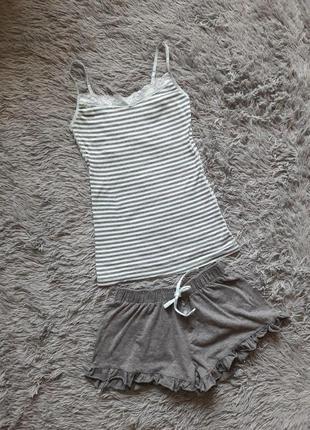 Пижама, майка, шорты