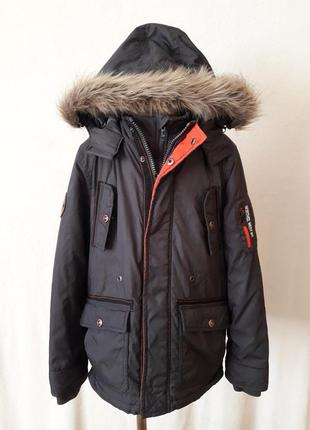 Демисезонная куртка парка фирмы here & there by c&a ( германия) p 146
