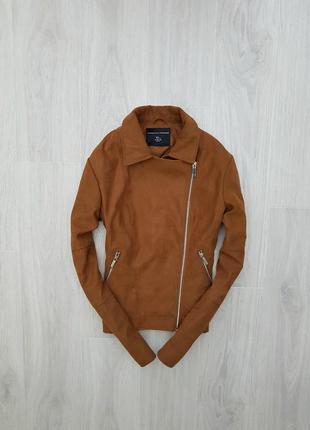 Замш. куртка  dorothy perkins