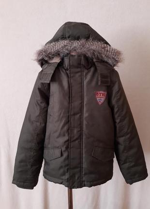Демисезонная куртка парка фирмы 5th league p. 146 на 10-11 лет