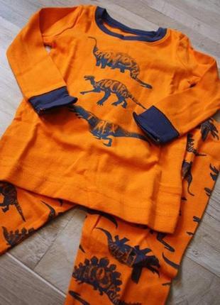 Детская хлопковая пижама old navy из сша 18-24.