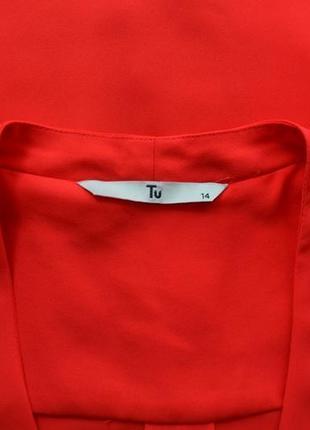 Красная блуза2 фото