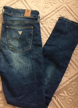 Джинсы 29 размер / джинсы guess