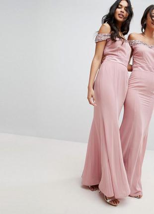 Ліквідація товару до 10 грудня 2018 !!! платье  с открытыми плечами  maya petite