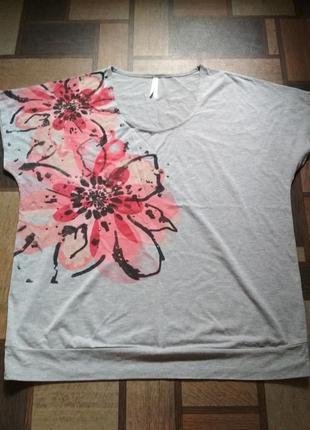Женская футболка (р.56-58)