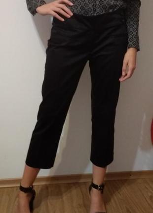 Базовые укороченные брюки zara