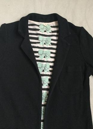 Жакет пиджак трикотажный