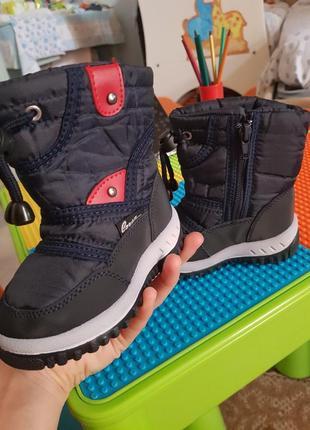 Зимние ботиночки для малыша
