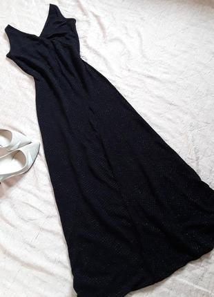 Вечернее длинное платье  из люрекса atmosphere