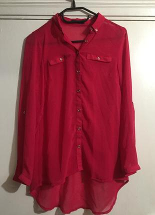 Легкая блуза рубашка george