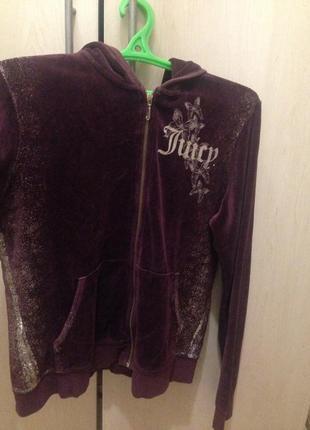 Велюровый костюм juicy couture