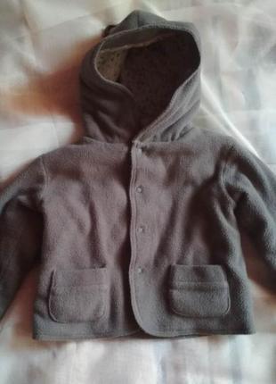 Флисовая курточка